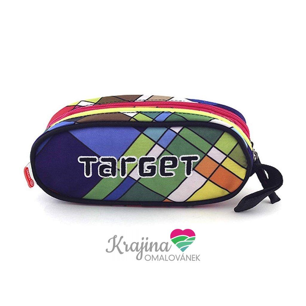 Target, 053999, školní penál, barevné kostky