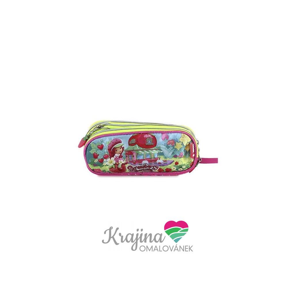 Strawberry shortcake, 062179, školní penál, Pink garden
