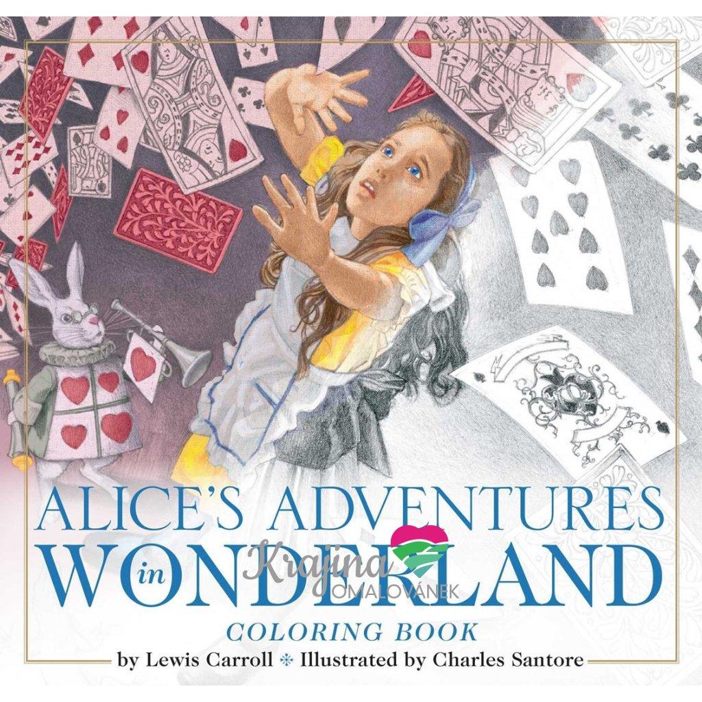 Alice´s adventures in wonderland, Charles Santore