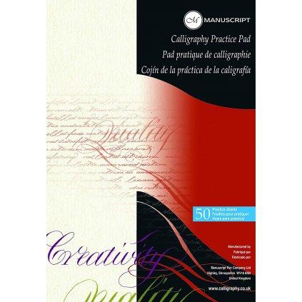 kalligrafický papír 50 listů