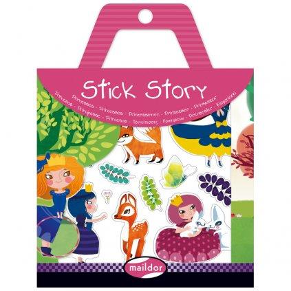 566404O Maildor Gommettes Stick Story Princesse