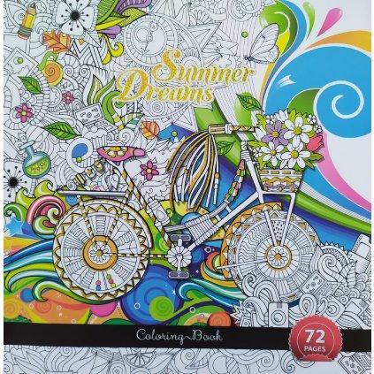Ditipo, 7222002, antistresové omalovánky, Summer Dreams