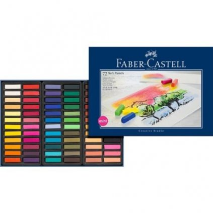 Faber-Castell, 128272, Creative studio, suchý pastel, 72 ks