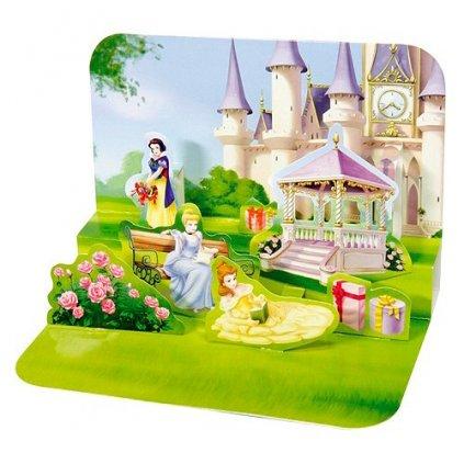 přání 3D princezny