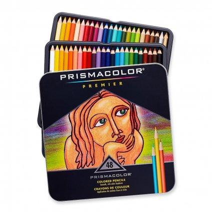 Prismacolor, SAN3598T, Prismacolor Premier, umělecké pastelky nejvyšší kvality, 48 ks 2. jakost