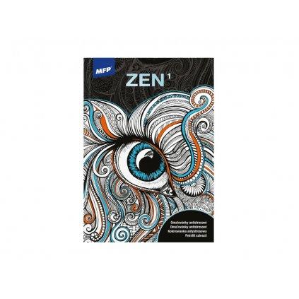 Zen1, antistresové omalovánky, MFP