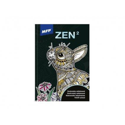 Zen2, antistresové omalovánky, MFP