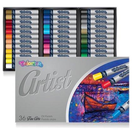artist olojový pastel 36 ks