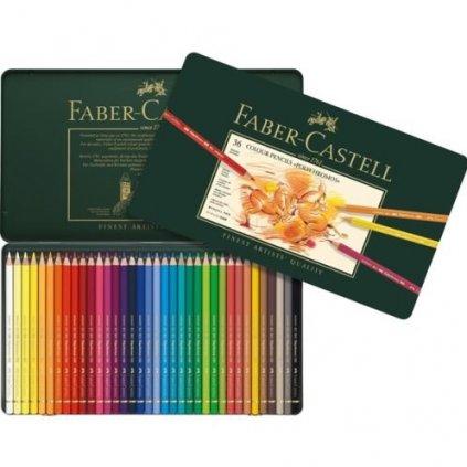 Faber-Castell, 110036, Polychromos, umělecké pastelky nejvyšší kvality, 36 ks