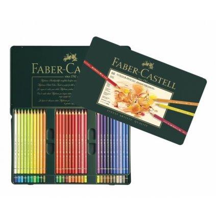 Faber-Castell, 110060, Polychromos, umělecké pastelky nejvyšší kvality, 60 ks