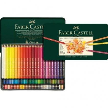 Faber-Castell, 110011, Polychromos, umělecké pastelky nejvyšší kvality, 120 ks