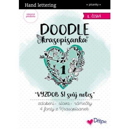 Ditipo, 7240001, DOODLE krasopísanky, Vyzdob si svůj notes, 1 ks
