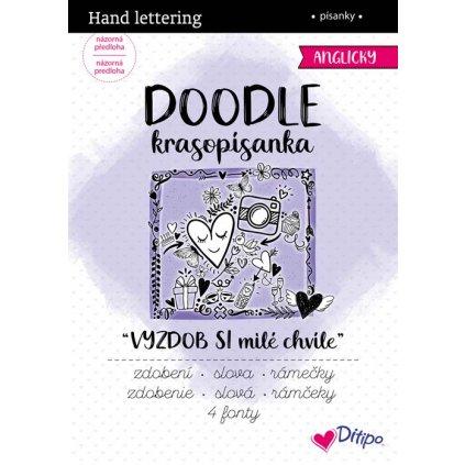 Ditipo, 7241001, DOODLE krasopísanky, Vyzdob si milé chvíle, 1 ks