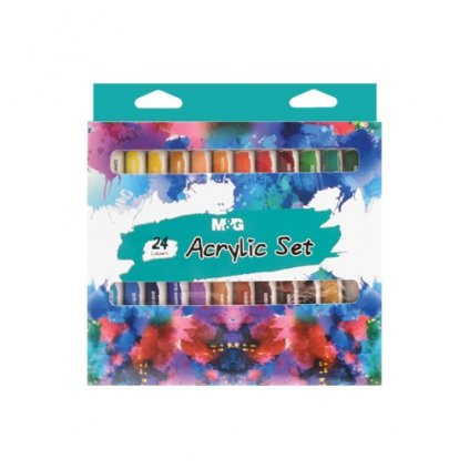 barvy akrylove m g 12 ml sada 24 ks