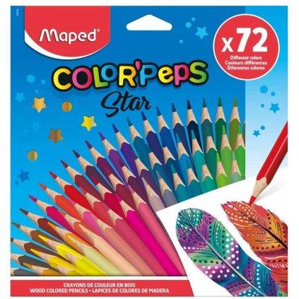 pastelky colorpeps 72 ks