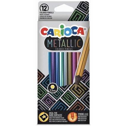 metalické pastelkya
