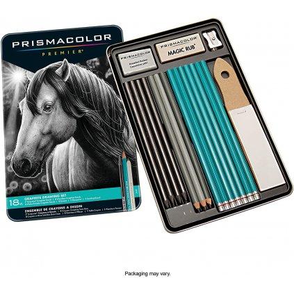 prismacolor grafitové tužky 18ks