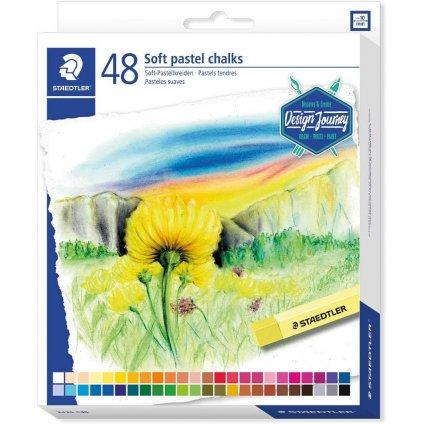 suchý pastel design journey 48ks