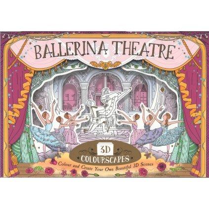 3D Colourscape Ballerina Theatre, Anna Brett
