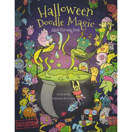 Halloween Doodle Magic, Aleksandra Kochergina