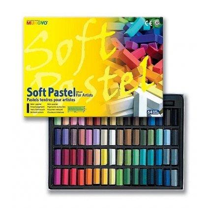 Mungyo, MPS64, Soft pastel for artist, suchý pastel, 64 ks
