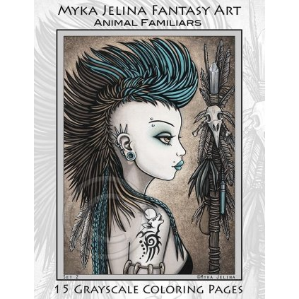 Myka Jelina, Animal Familiars Fairy Angels Tribal