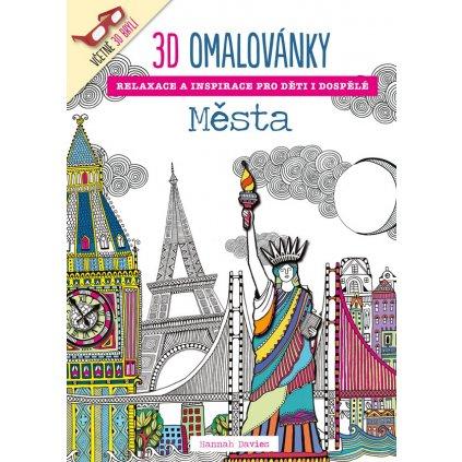 3D-omalovánky, Města, Hannah Davies
