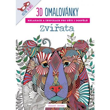 3D-omalovánky, Zvířata, Hannah Davies
