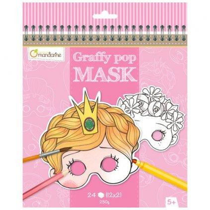 karnevalové masky holky