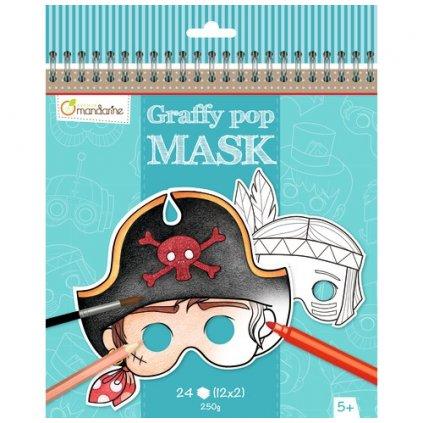 karnevalové masky kluci