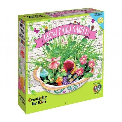 Creativity for kids, 1114200, kreativní sada, zahrádka s malou vílou