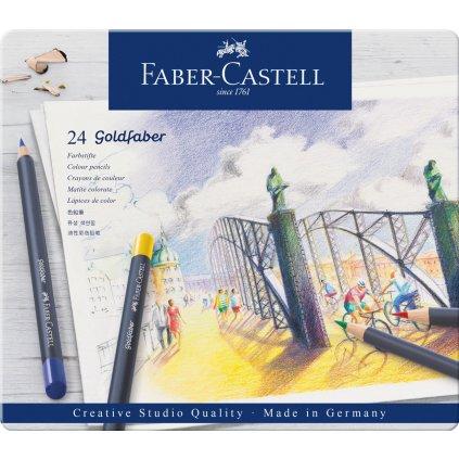 Faber Castell, Goldfaber, 114724,  sada 24 ks