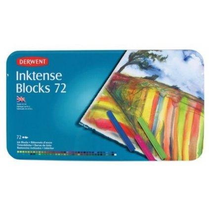 Derwent, 2301980, Inktense blocks, sada akvarelových bloků, 72 ks