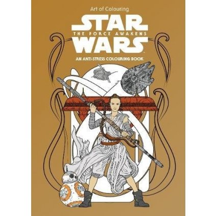 Star Wars Art of Colouring,  The Force Awakens, Lucasfilm