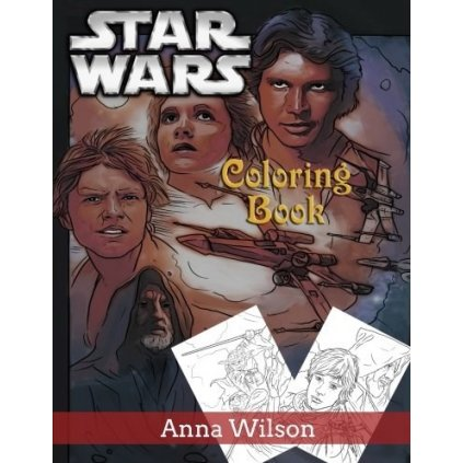 Star Wars Coloring Book, Anna Wilson