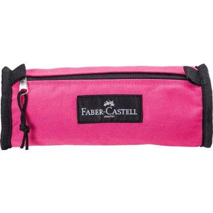 Faber-Castell, 573528, pouzdro College colour na tužky a pastelky, růžová