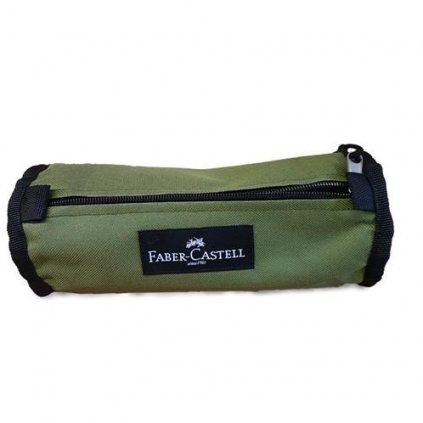 Faber-Castell, 573573, pouzdro College colour na tužky a pastelky, olivová