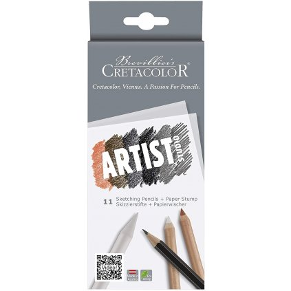 Artist studio sketching