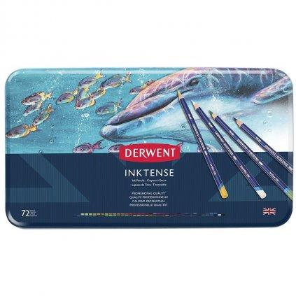 Derwent, 2301843, Inktense, inkoustové akvarelové pastelky, 72 ks