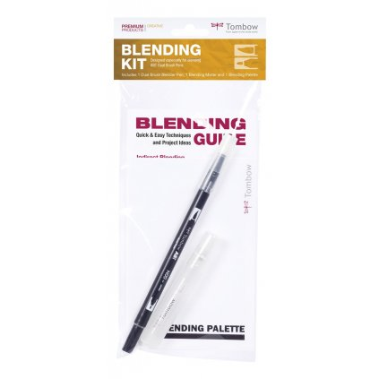 Tombow, BLENDING-KIT, sada pro míchání barev 4 v 1
