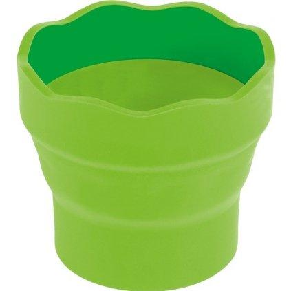 Faber-Castell, 181570, kelímek na vodu CLIC&GO, zelená, 1 ks