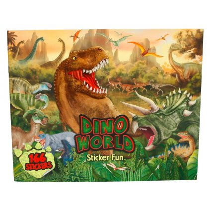 Dino world, kreativní sešit, Dino world