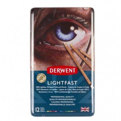 Derwent, 2302719, Lightfast, umělecké pastelky, 12 ks