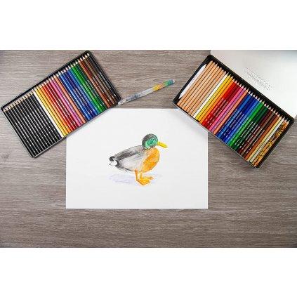Cretacolor, 464 72, sada uměleckých pastelek a tužek, 72 ks