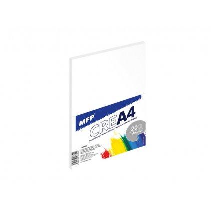 MFP, 7500660, kreslící karton, A4, 190 g, 20 listů