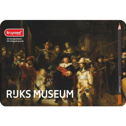 Bruynzeel, Rijks museum, 5700M50, sada uměleckých pastelek, 50 ks