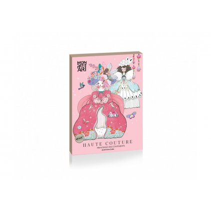 Mon Petit Art, PHCIZU1, kreativní sada papírové panenky, Haute Couture - Princesses des continents, 1 ks