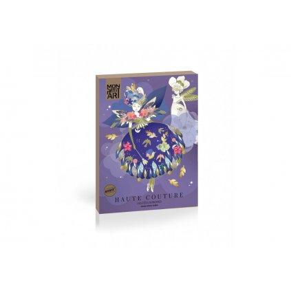 Mon Petit Art, PHCIZU3, kreativní sada papírové panenky, Haute Couture - Les feés sublimes, 1 ks
