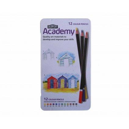 Derwent, 2301937, Academy, umělecké pastelky, 12 ks