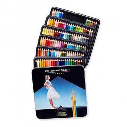 Prismacolor, 4484, Prismacolor Premier, umělecké pastelky nejvyšší kvality, 132 ks